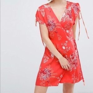MinkPink Hot Springs Wrap Dress, NWT